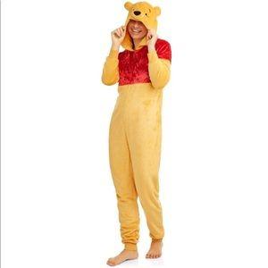 Women Pooh Union Suit Pajama Halloween